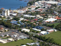 aerial view of Redcliffe State High School