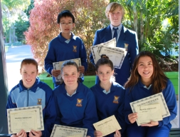 Yr.9 SABER awards for term 2