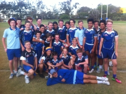 Yr. 9 Rugby League into Grand Final